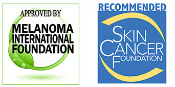 Approved By Melanoma Foundation & Recommended by the Skin Cancer Foundation