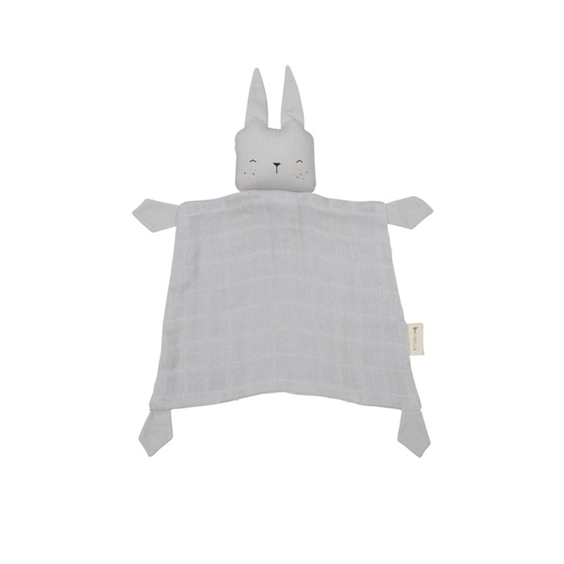 Doudou animal Fabelab bunny ice