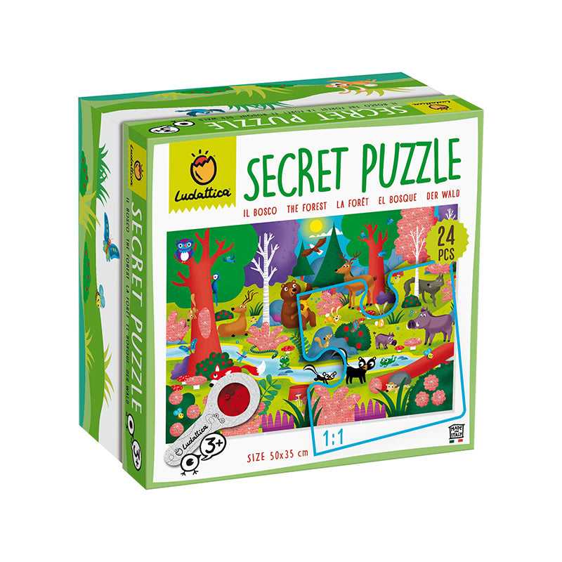 Secret Puzzle: El Bosque Ludattica