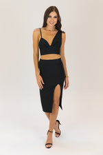 Soul Mate 2 Piece Set Top and Midi Skirt