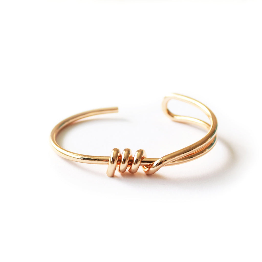 Alma Bangle Gold