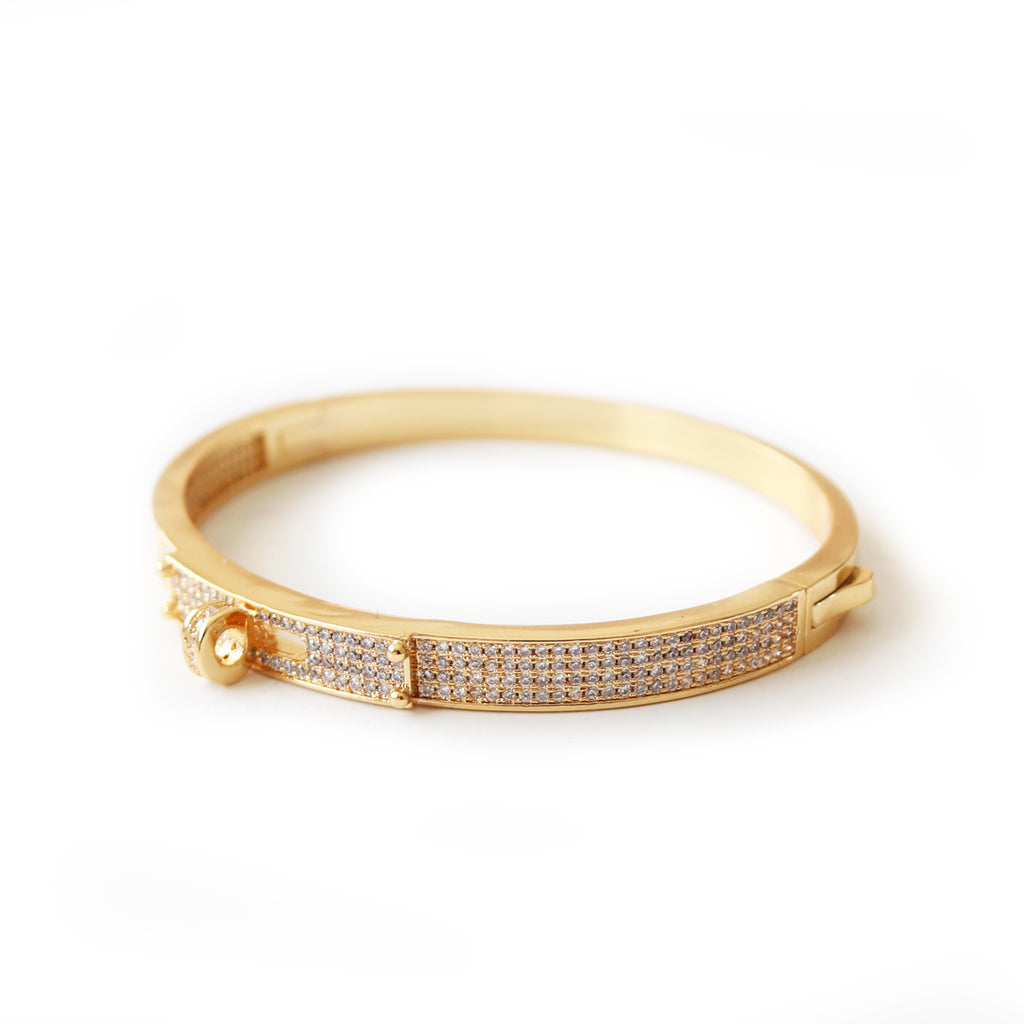 Aries Bangle Gold