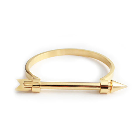 Arrow Bangle Gold