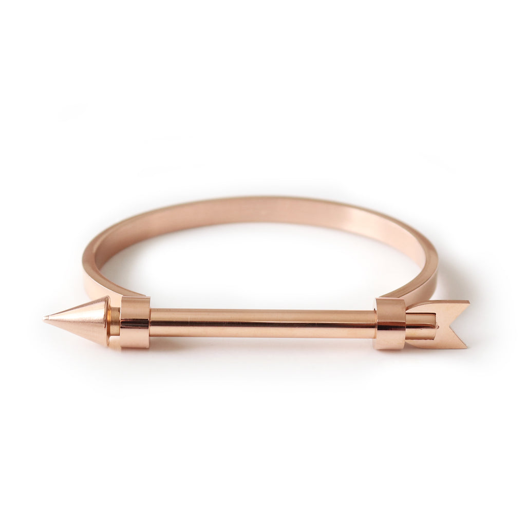 Arrow Bangle Rose Gold