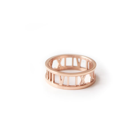 Arya Ring Rose Gold