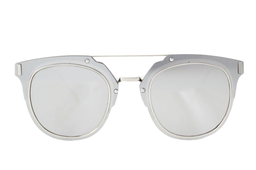 Cali Sunglasses Silver Mirror