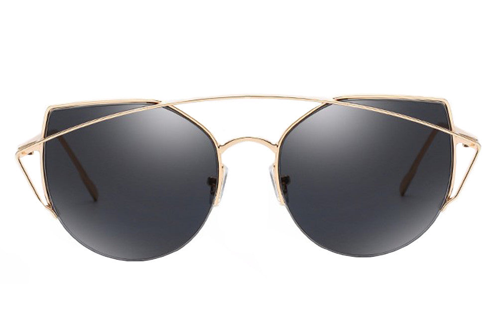 Cara Sunglasses Black gold