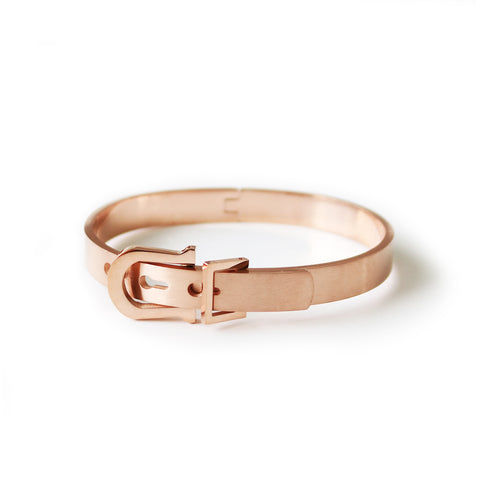 Dawn bangle - Rose gold