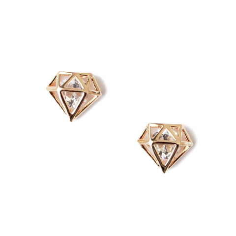 Diamond earrings - tee & ing. - 1