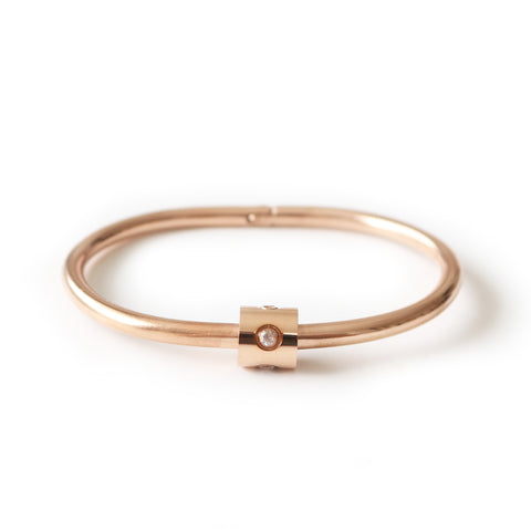 Etoiles Bangle Rose Gold