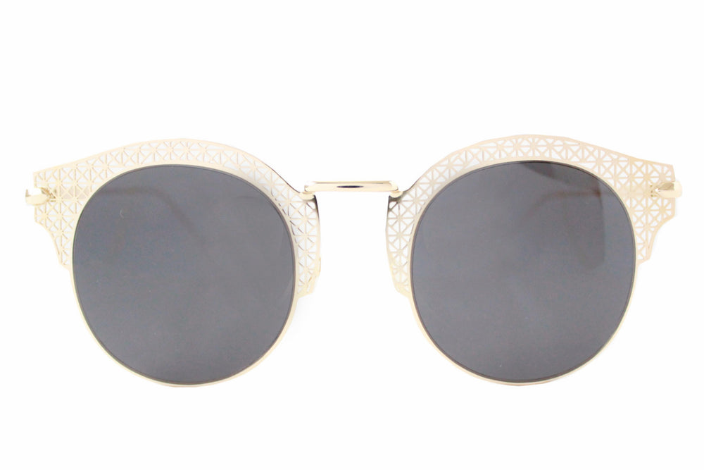Florence Sunglasses Black & Gold