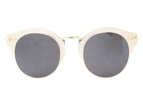 Florence Sunglasses Black & Gold - tee & ing.