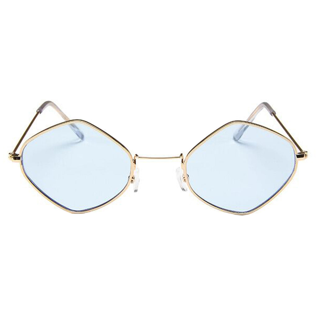 Geo Sunglasses Blue/Gold
