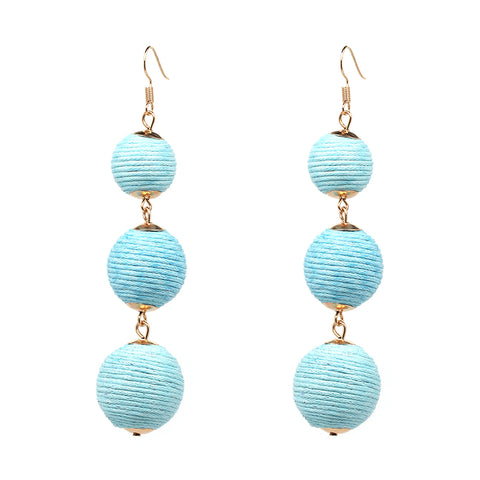 Estelle earrings - Blue