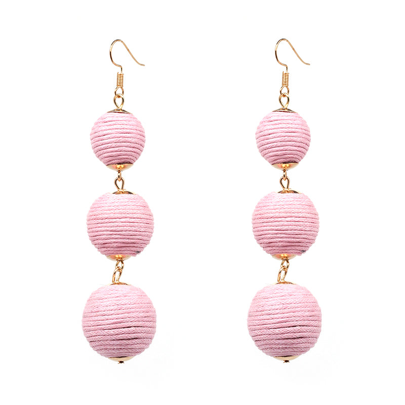 Estelle earrings - Pink