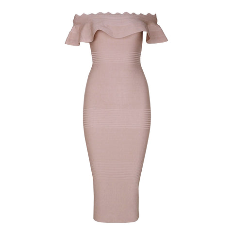Hailey Bandage Dress - Pink