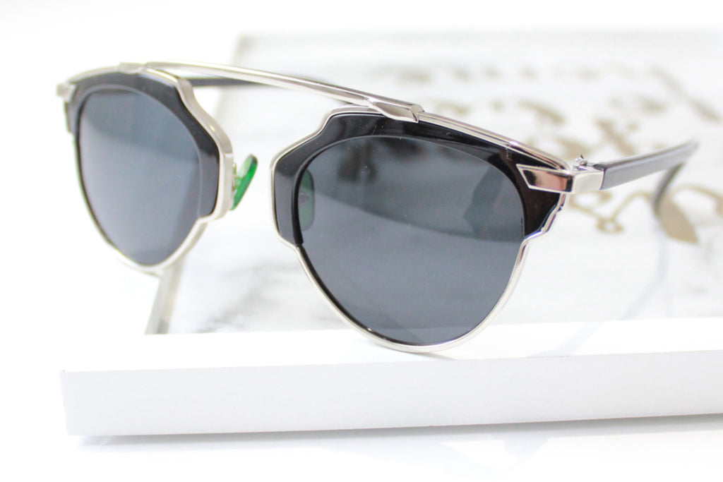 Holly sunglasses Black/Silver -  - 2