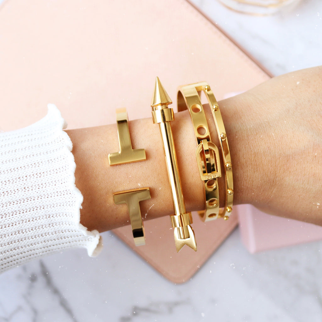 Cupid Bangle Gold
