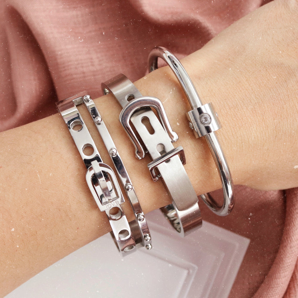 Etoiles Bangle Silver