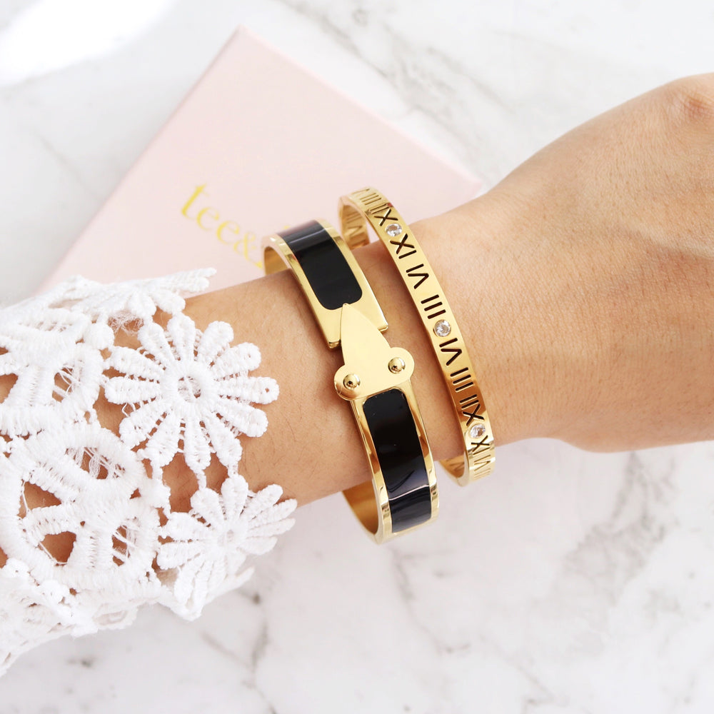 Toujours Bangle Gold