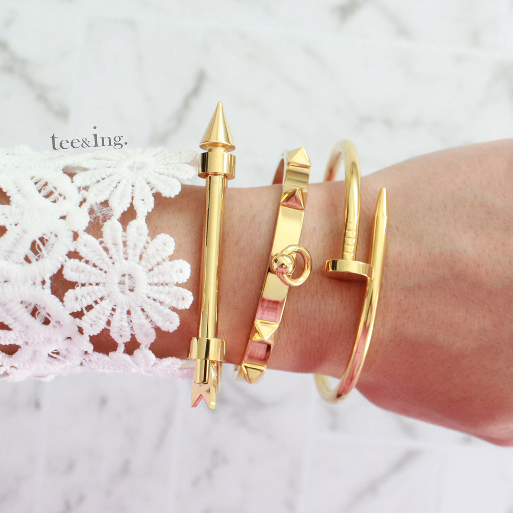 Elite Bangle Gold