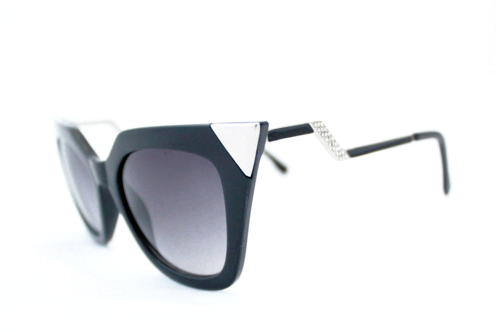 Ava Sunglasses Black -  - 2