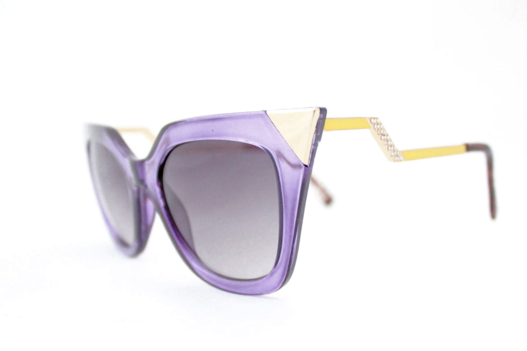Ava sunglasses purple -  - 2