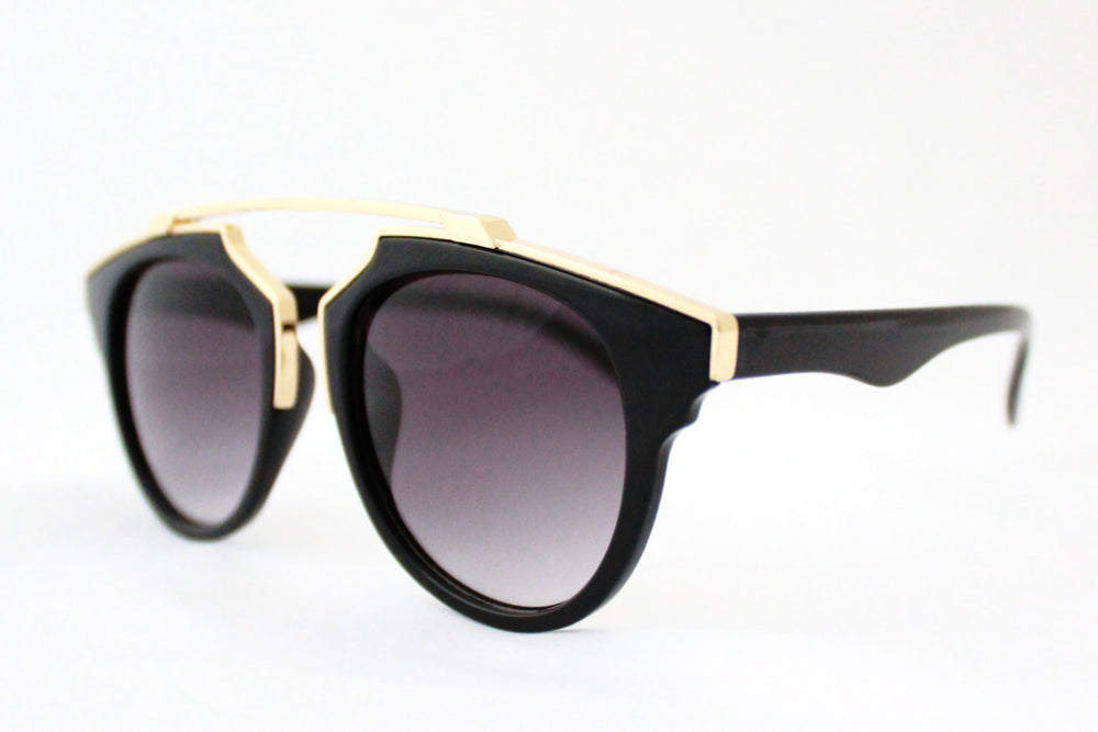 Kate Sunglasses Black & Gold -  - 2