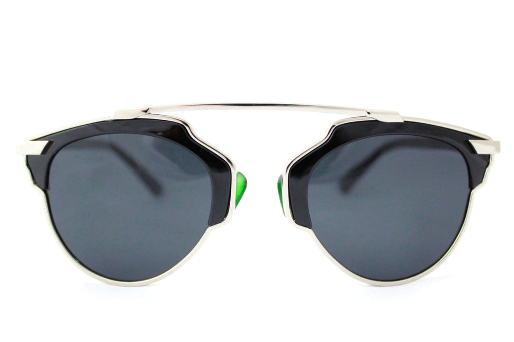 Holly sunglasses Black/Silver -  - 1
