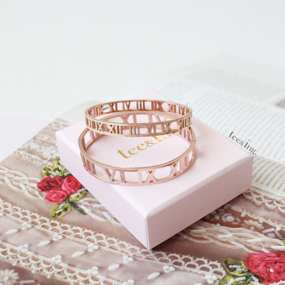 Arya bangle rose gold