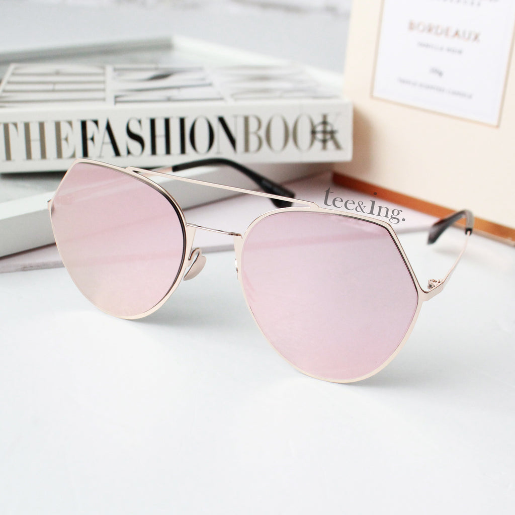 Moda sunglasses Rose gold