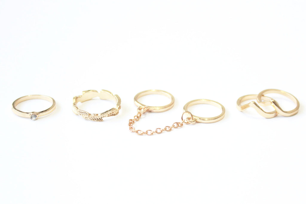 Freedom Set of Rings -