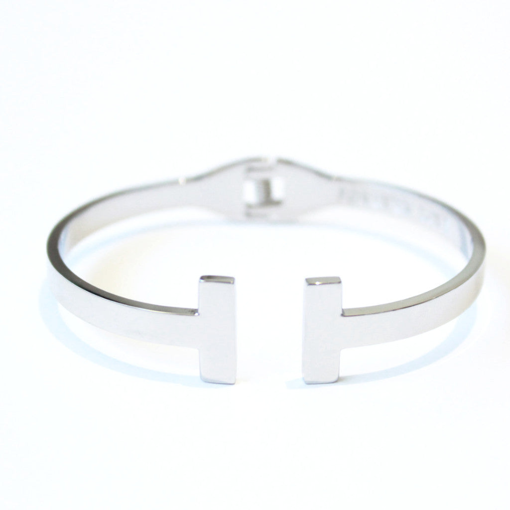 Cupid Bangle Silver -