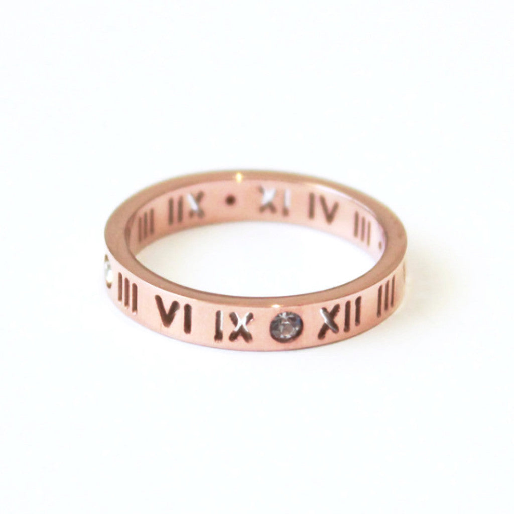 Hollywood Ring rose gold -