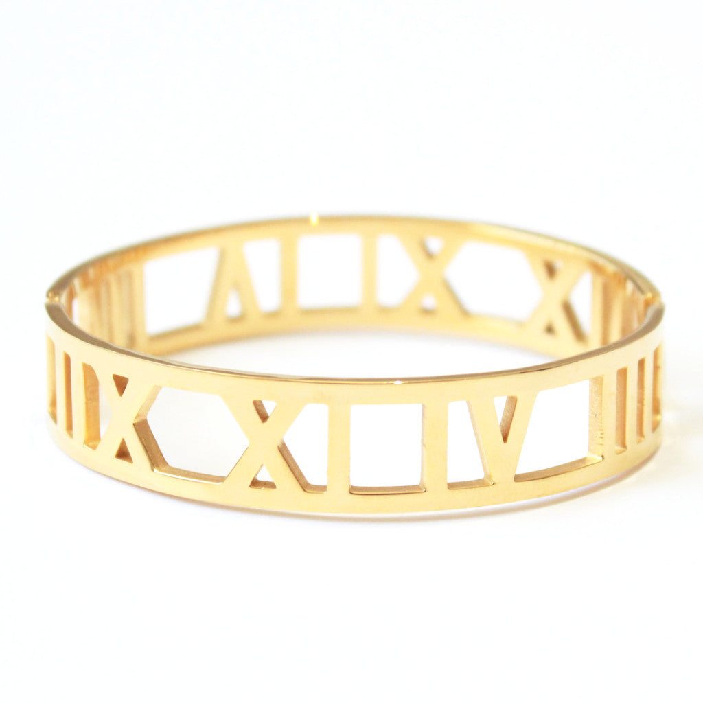 Royalty Bangle Gold -  - 1