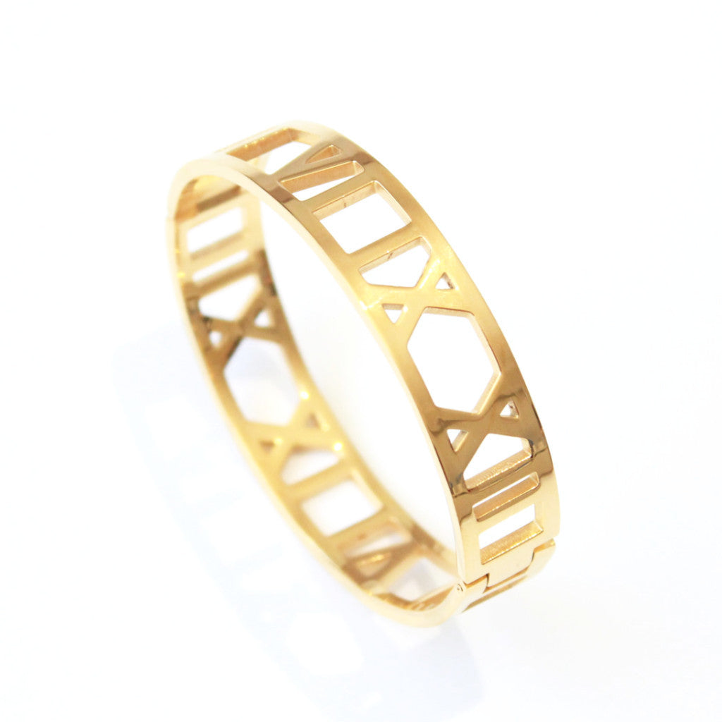 Royalty Bangle Gold -  - 2