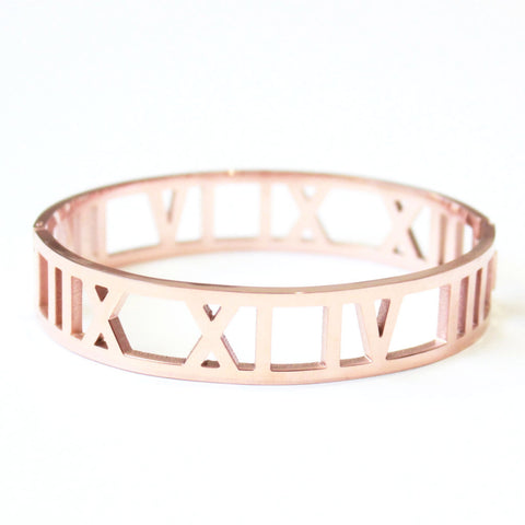 Royalty Bangle Rose Gold -