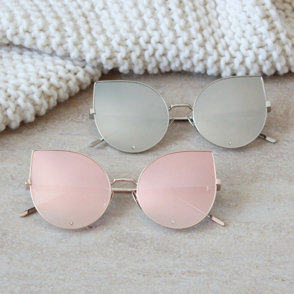 Paradise Sunglasses Rose gold - tee & ing. - 2