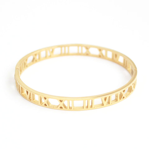 Arya bangle Gold - tee & ing.
