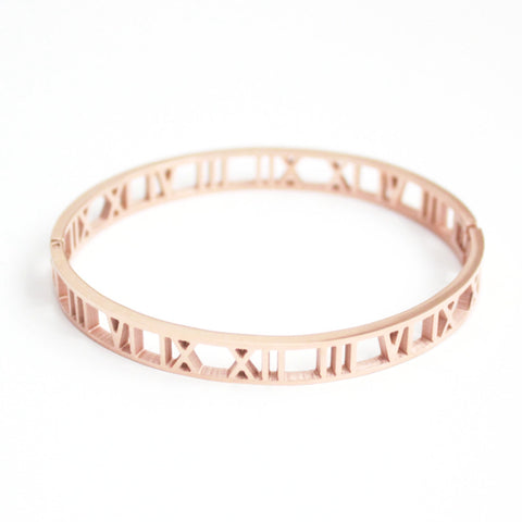 Arya bangle rose gold - tee & ing.
