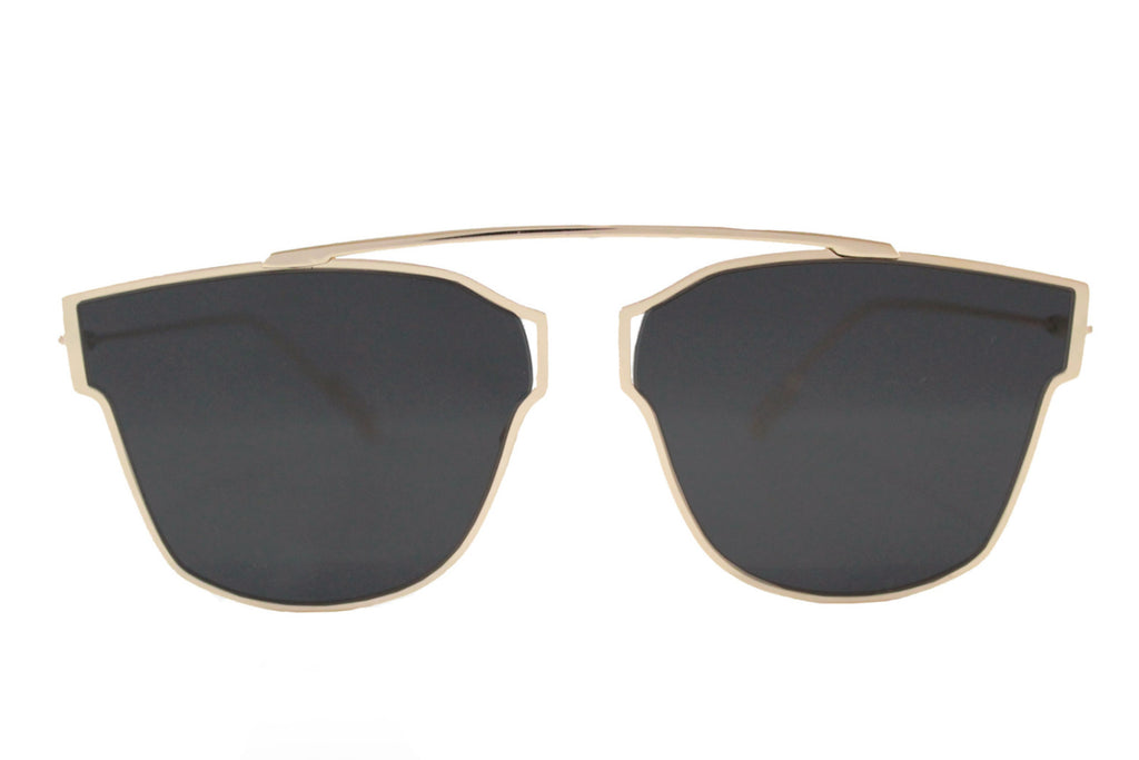 L.A. Sunglasses Black & Gold - tee & ing.