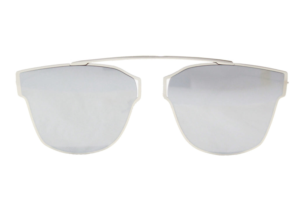 L.A Sunglasses Silver Mirrored - tee & ing. - 1