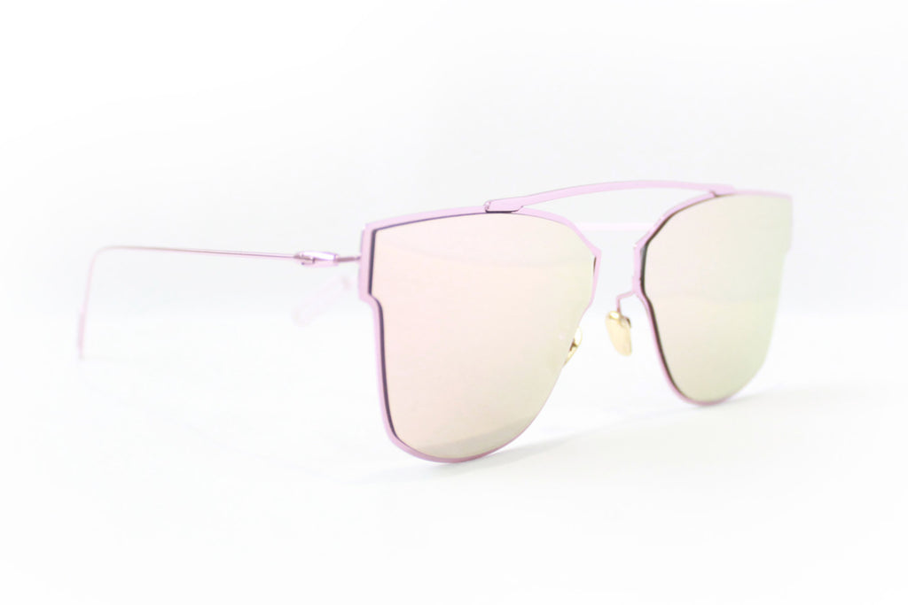 L.A. Sunglasses Pink - tee & ing. - 2