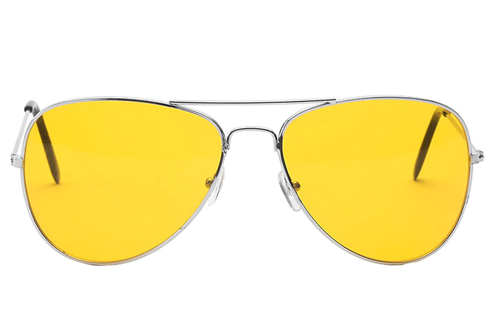 Liza yellow lens sunglasses