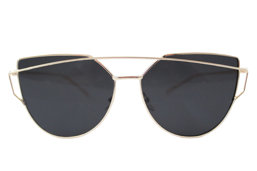 London Sunglasses Black & gold - tee & ing. - 1