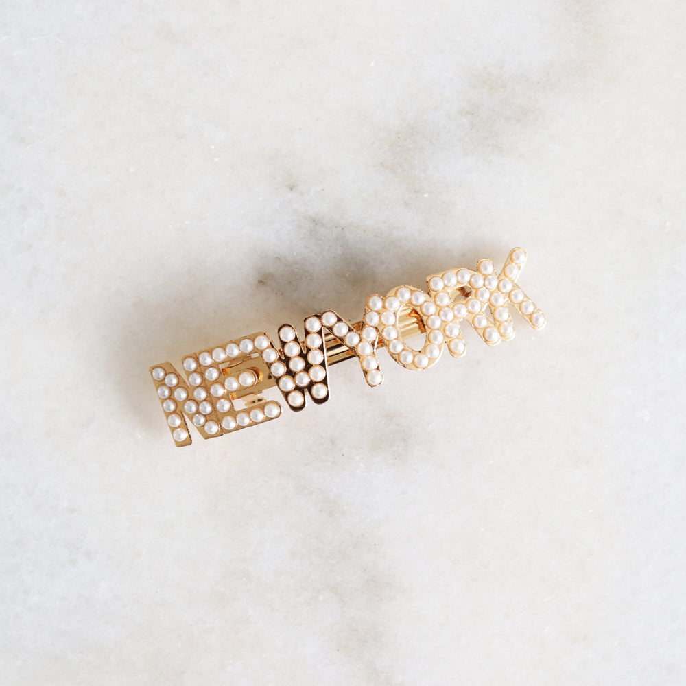 City Hair Clip - New York