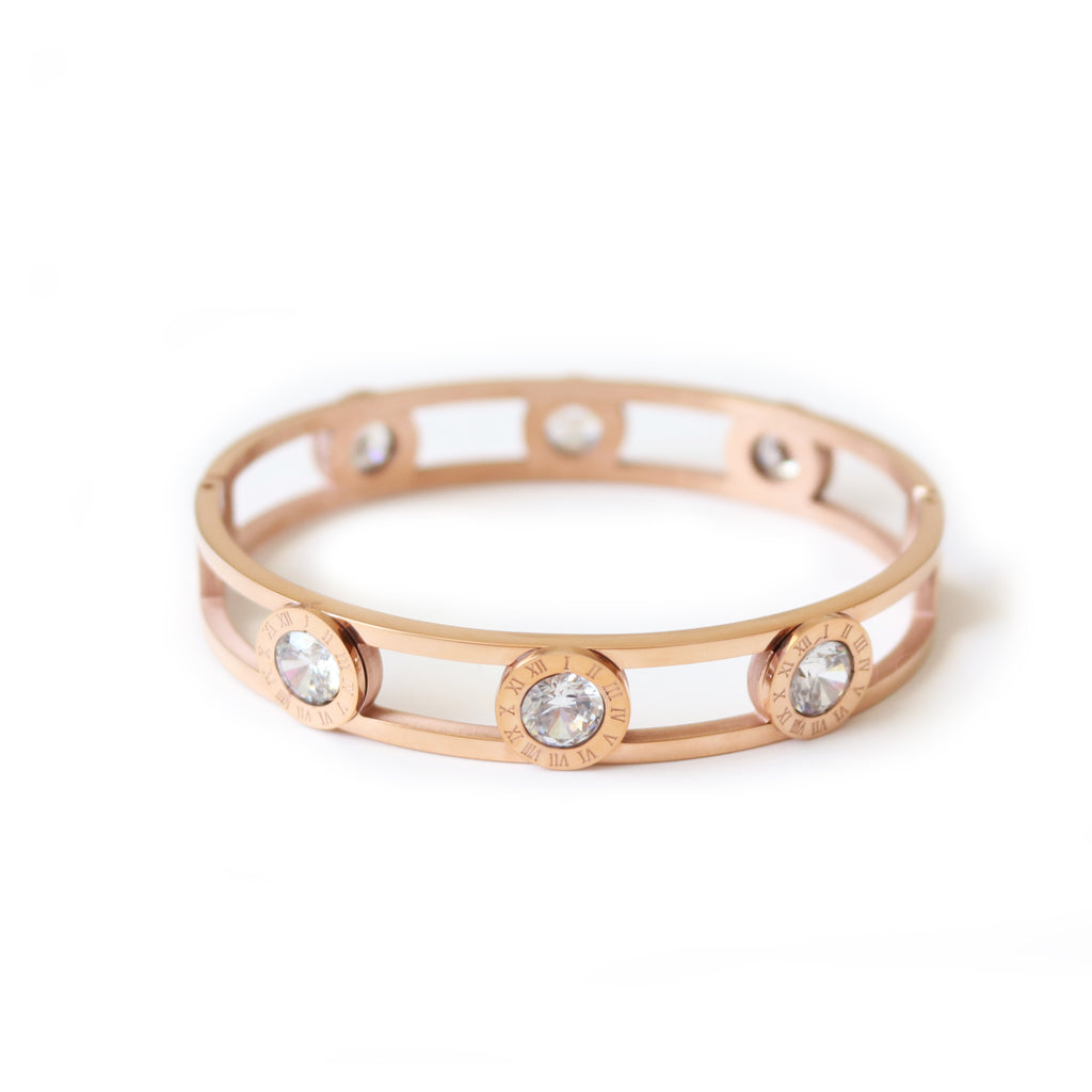 Opulent Bangle Rose Gold
