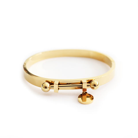 Orbit Bangle Gold