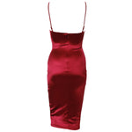 Scarlett Dress - Wine