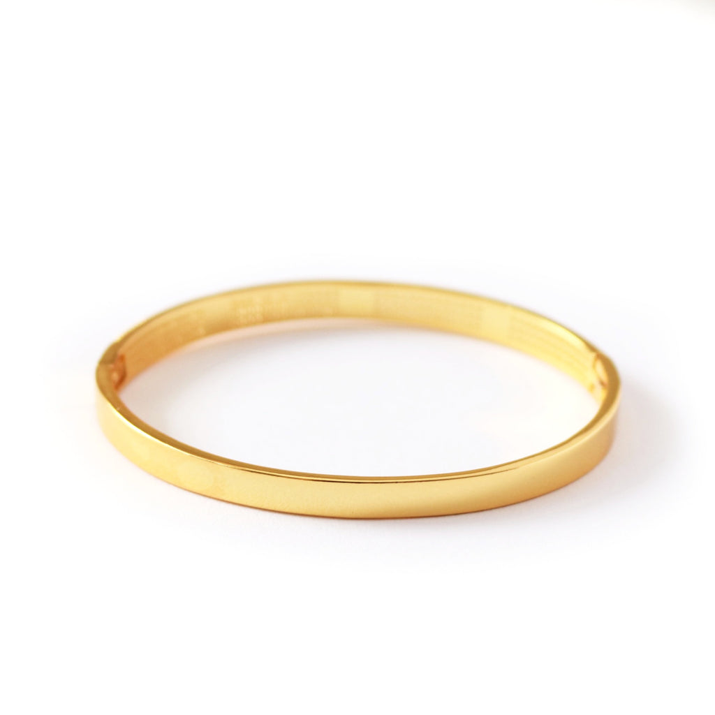 Star Studded Bangle Gold